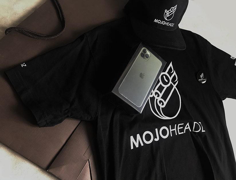 Mojoheadz Records Merch Pack