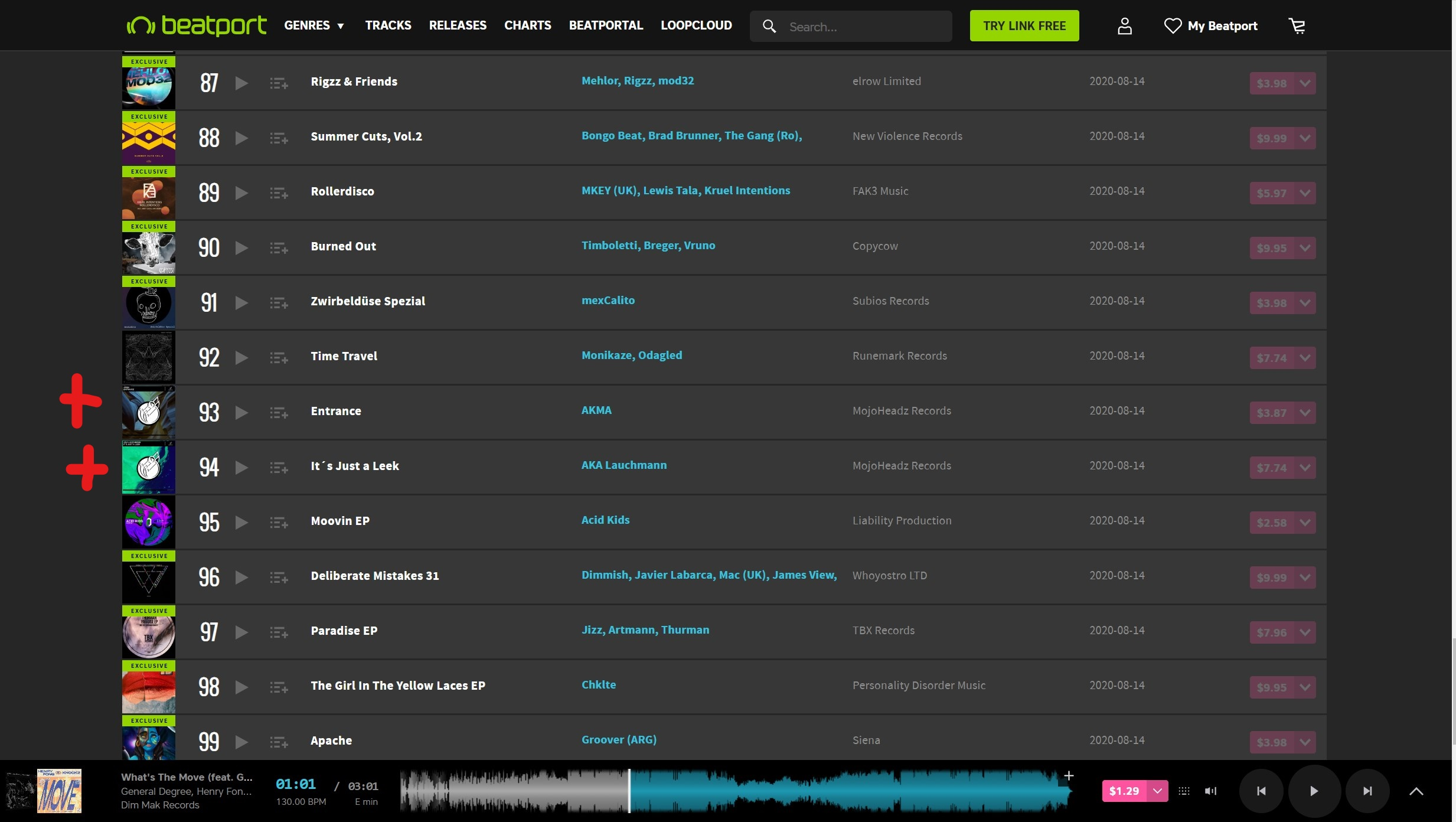 AKA Lauchmann &  AkMa in Beatport's top 100! | MojoHeadz Records | We don't fake it - we make it!